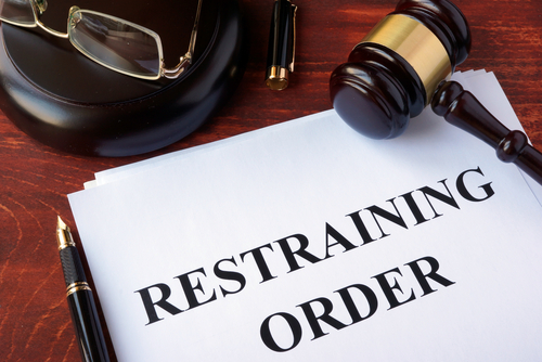 how to lift a restraining order